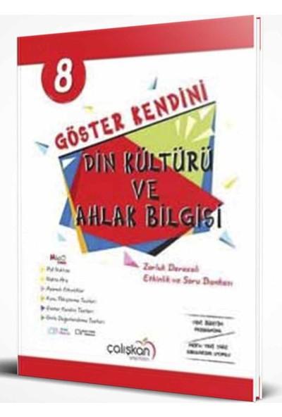 Çalışkan Yayınları 8. Sınıf Din Kültürü ve Ahlak Bilgisi Göster Kendini Soru Bankası