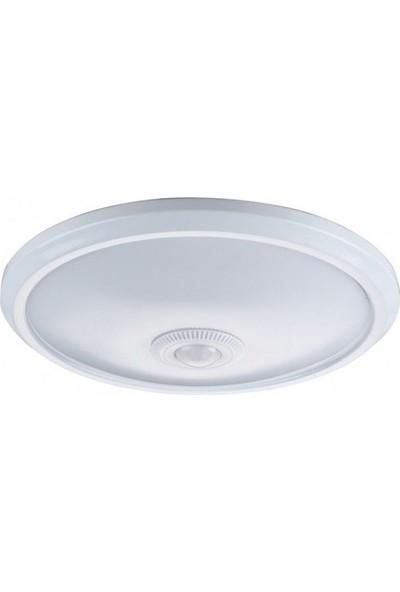 No-vo Ledli Sensörlü 18W Tavan Armatürü Beyaz Işık