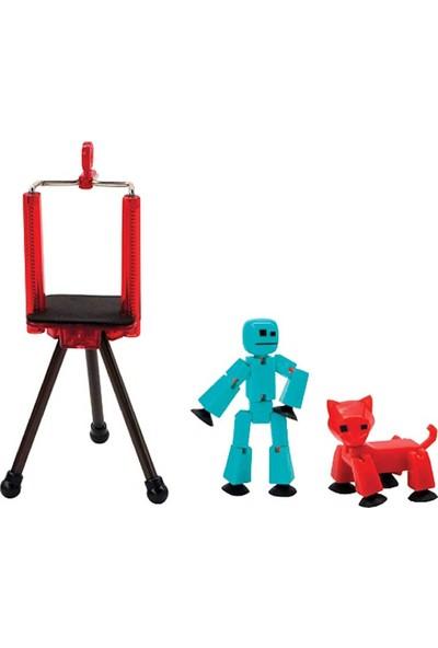 Stikbot Pets Stüdyo - TST615A - Kırmızı Kedi