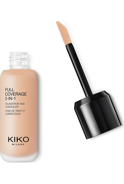 Kiko Full Coverage 2-İn-1 Fondöten & Concealer 02-Wr 10