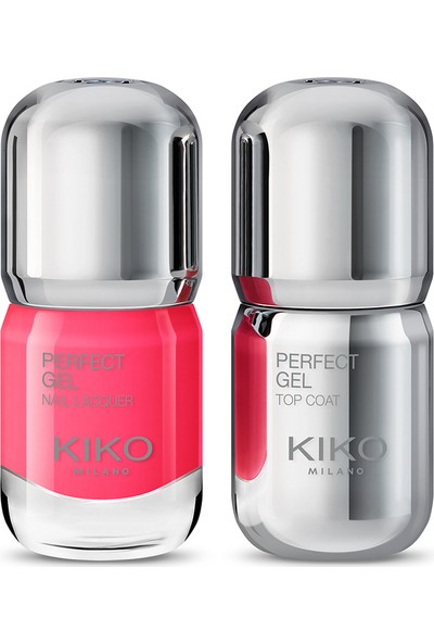 Kiko Perfect Gel Duo Nail Lacquer Set - 673 Oje
