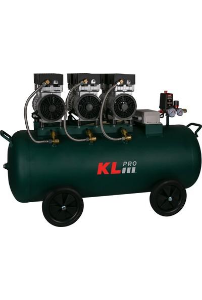 Klpro KLK103S Sessiz Kompresör 8 Bar 100 lt