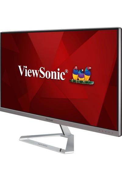 """ViewSonic 27"""" VX2776-4K-MHD UltraHD IPS Panel 4ms HDMI+DP+VGA Çerçevesiz Tasarım Monitörü"""