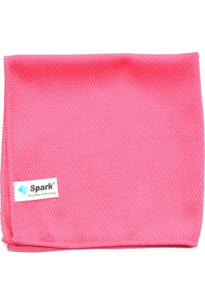 Spark 2309 (4 Adet) Mikrofiber Cam Temizlik Bezi 40X40 Cm. 4' Lü