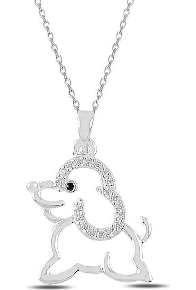 Ejoya Sevimli Köpek Gümüş Kolye 82850