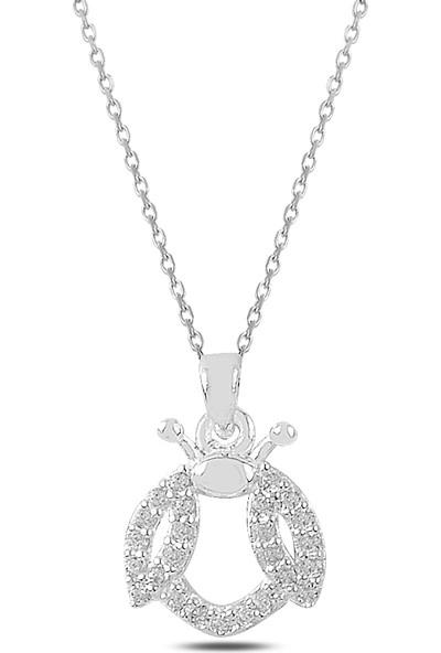 Ejoya Uğur Böceği Gümüş Kolye 82530