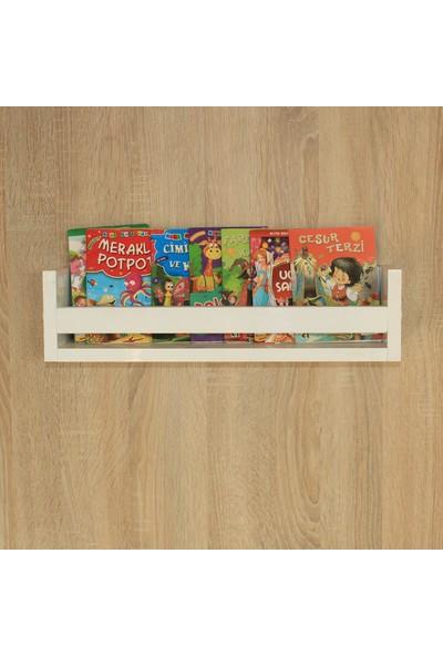 Emdief Home Montessori Tekli Kitaplık Raf MDF