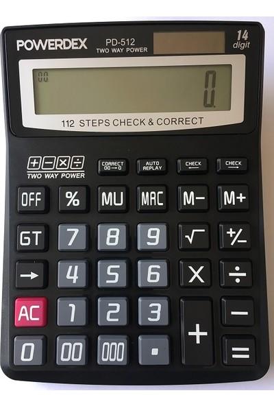 Powerdex PD-512 Elektronik Hesap Makinesi