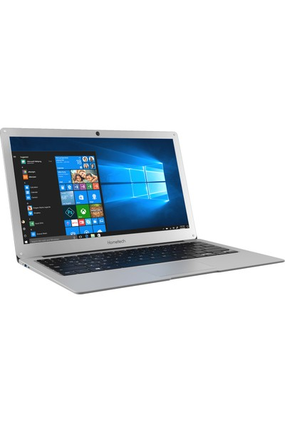 "Hometech Alfa 600C Intel Celeron N3350 3GB 128GB SSD Windows 10 Home 13.3"" FHD Taşınabilir Bilgisayar"