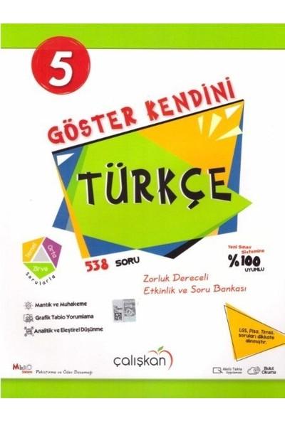 Çalışkan Yayınları 5. Sınıf Türkçe Göster Kendini Soru Bankası