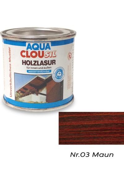 Clou L12 Su Bazlı Renkli Ahşap Koruyucu 100 ml - No:03 Maun