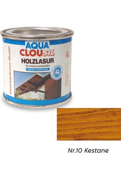 Clou L12 Su Bazlı Renkli Ahşap Koruyucu 100 ml - No:10 Kestane Rengi