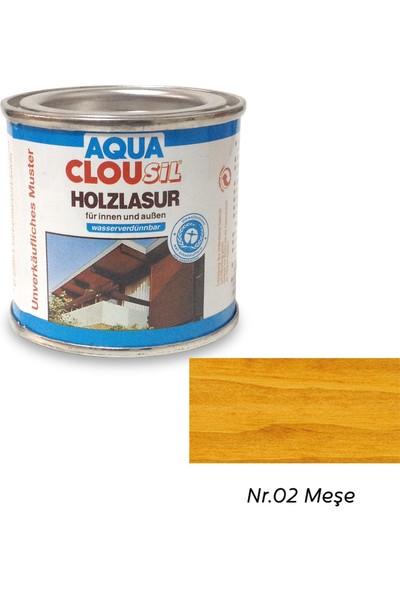 Clou L12 Su Bazlı Renkli Ahşap Koruyucu 100 ml - No:02 Meşe