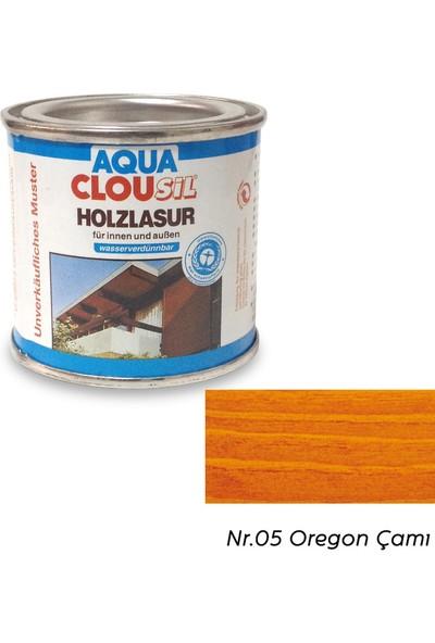 Clou L12 Su Bazlı Renkli Ahşap Koruyucu 100 ml - No:05 Oregon Çamı