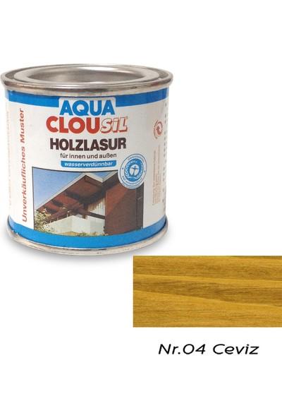 Clou L12 Su Bazlı Renkli Ahşap Koruyucu 100 ml - No:04 Ceviz