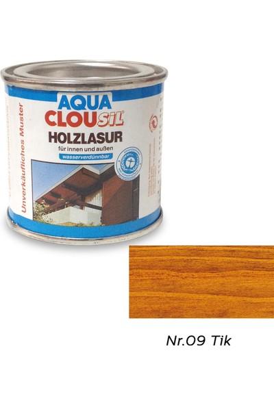 Clou L12 Su Bazlı Renkli Ahşap Koruyucu 100 ml - No:09 Tik Rengi