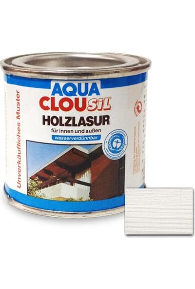 Clou L12 Su Bazlı Renkli Ahşap Koruyucu 100 ml - No:17 Beyaz