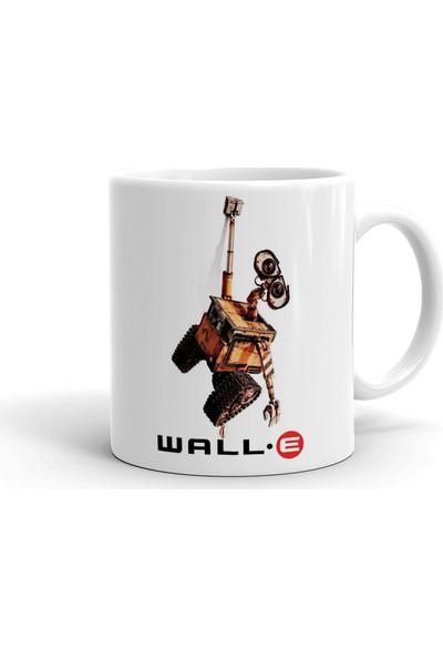 2k Dizayn Wall-E Tasarım Seramik Kupa Bardak