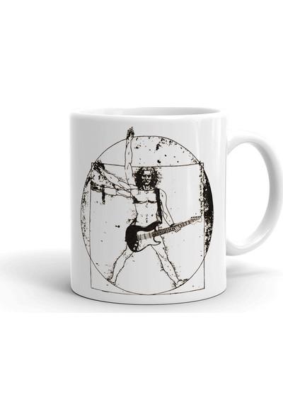2k Dizayn Da Vinci Tarz Tasarım Seramik Kupa Bardak