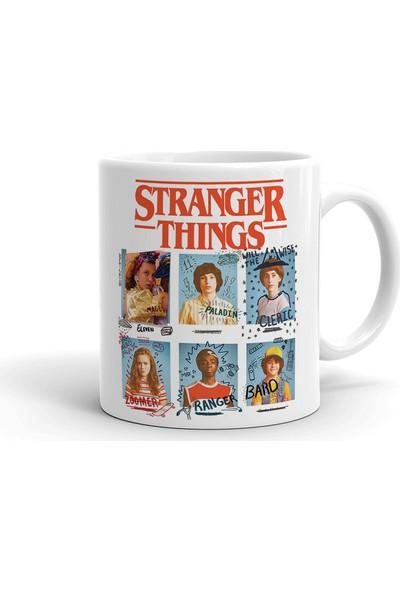 2k Dizayn Stranger Things Tasarım Seramik Kupa Bardak