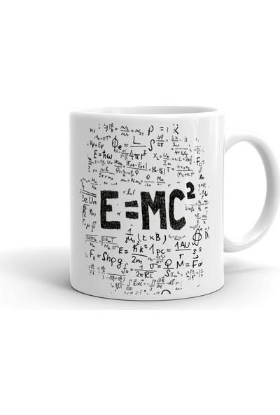2k Dizayn E=mc2 Tasarım Seramik Kupa Bardak