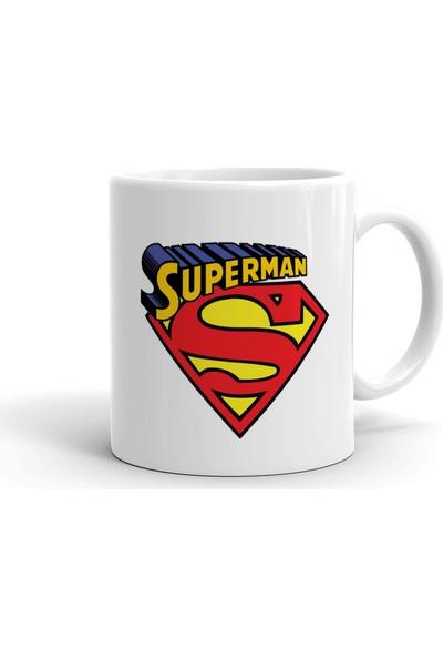 2k Dizayn Superman Tasarım Seramik Kupa Bardak