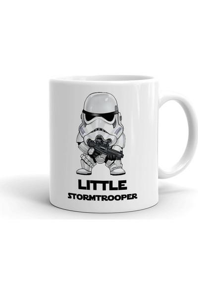 2k Dizayn Star Wars Stormtrooper Tasarım Seramik Kupa Bardak