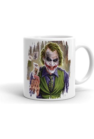 2k Dizayn Joker Tasarım Seramik Kupa Bardak