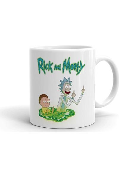 2k Dizayn Rick And Morty Tasarım Seramik Kupa Bardak