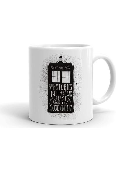2k Dizayn Doctor Who Tardis Tasarım Seramik Kupa Bardak