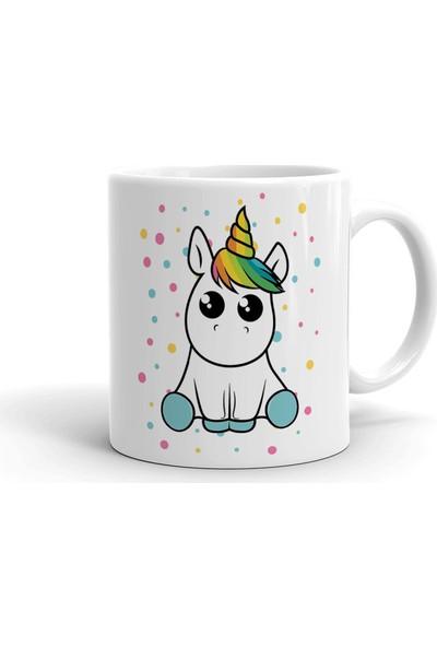 2k Dizayn Unicorn Tasarım Seramik Kupa Bardak