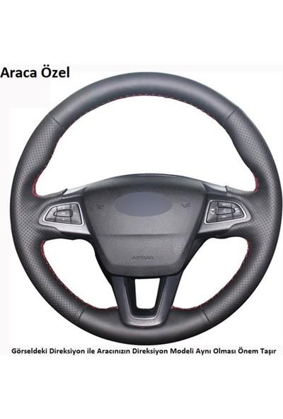 Akhan Tuni̇ng Ford Focus 4 2015-2018 Araca Özel Direksiyon Kılıfı ( FO-002 )