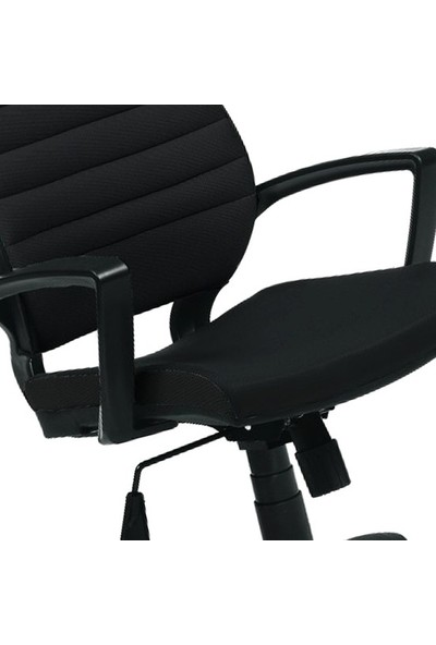 Asbir Rigel 55300 Çalışma Koltuğu Ofis Koltuğu Çalışma Sandalyesi Siyah