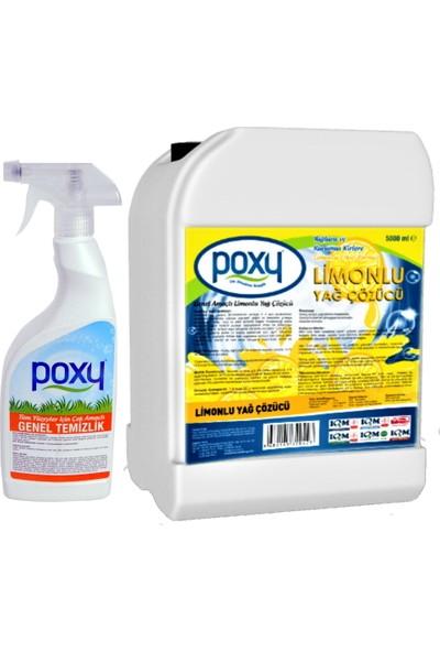 Limonlu Yağ Çözücü 5000 ml Genel Temizlik 800 ml