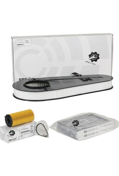 Otofiltreci BMW F10 520d 525d Oto Filtre Bakım Seti ( Hava Filtresi - Yağ Filtresi - Polen Filtresi )