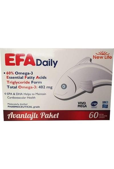 New Life Efa Daily 60 Kapsül