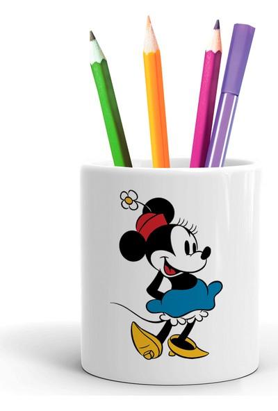 2K Dizayn Minnie Mouse Tasarım Seramik Kalemlik