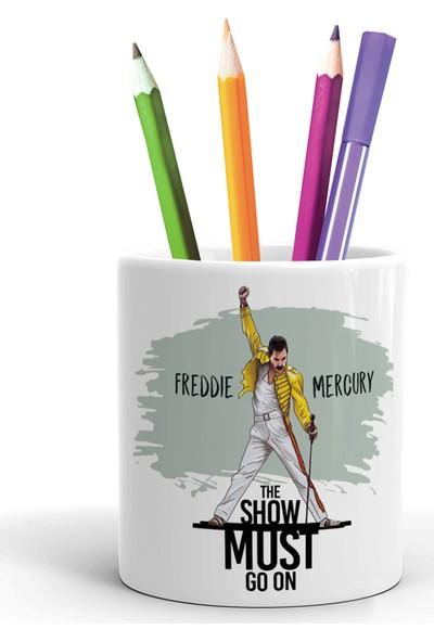 2K Dizayn Freddie Mercury Tasarım Seramik Kalemlik