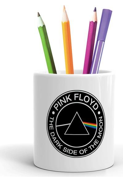 2K Dizayn Pink Floyd The Dark Of The Moon Tasarım Seramik Kalemlik