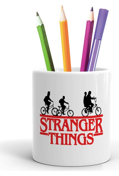 2K Dizayn Stranger Things Tasarım Seramik Kalemlik