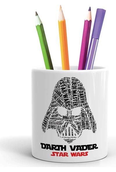 2K Dizayn Star Wars Darth Vader Tasarım Seramik Kalemlik
