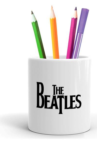 2K Dizayn The Beatles Tasarım Seramik Kalemlik
