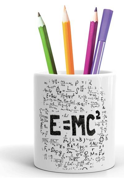 2K Dizayn E=mc2 Tasarım Seramik Kalemlik
