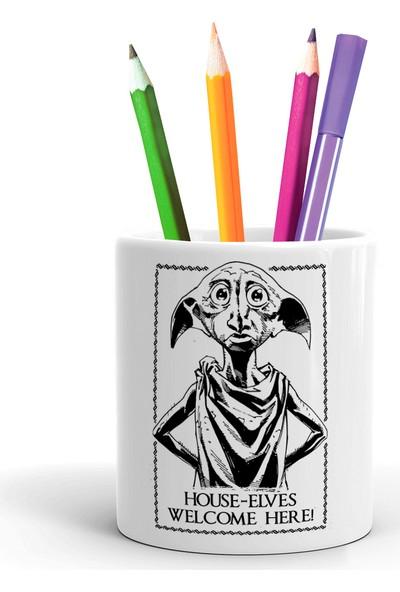 2K Dizayn Harry Potter Dobby Tasarım Seramik Kalemlik