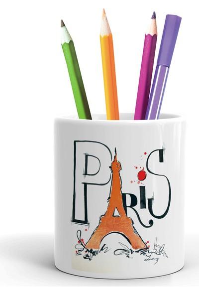 2K Dizayn Paris Tasarım Seramik Kalemlik