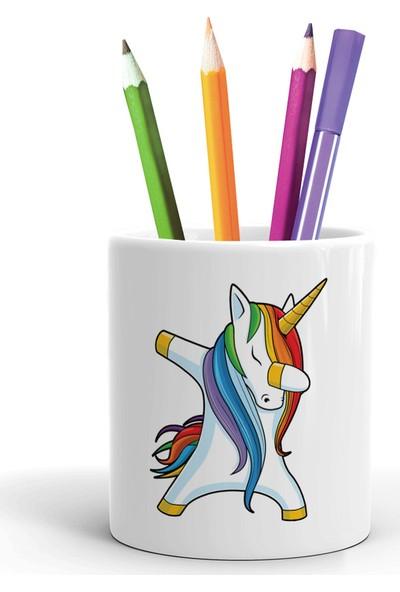 2K Dizayn Unicorn Tasarım Seramik Kalemlik