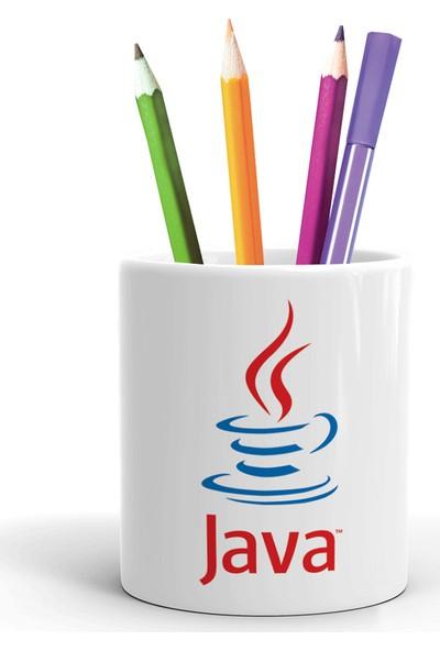 2K Dizayn Java Tasarım Seramik Kalemlik