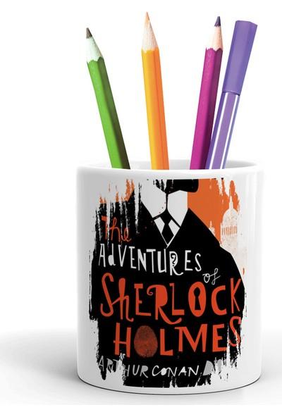 2K Dizayn Sherlock Holmes Tasarım Seramik Kalemlik