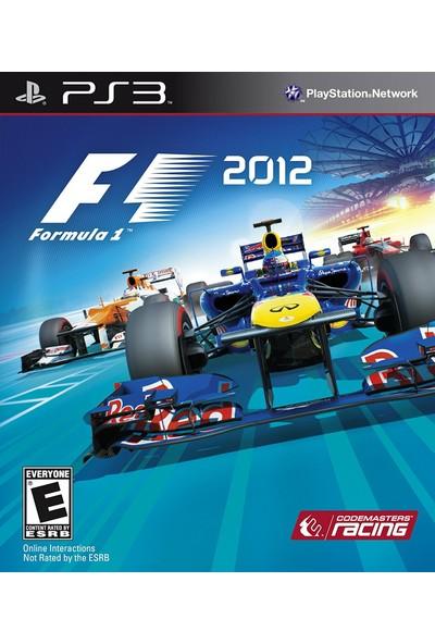 Ps3 F1 2012 Formula 1 2012