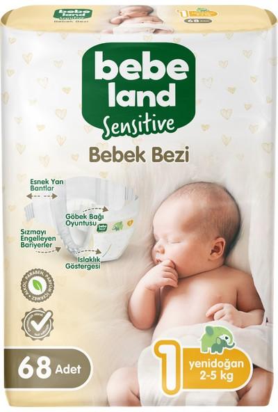 Bebeland Sensitive Bebek Bezi Midi 1 Numara 68 Adet